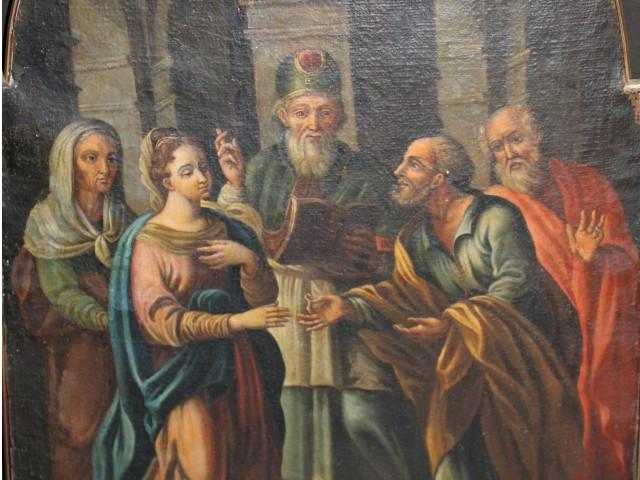 Matrimonio di Maria -Antichità Ioviero