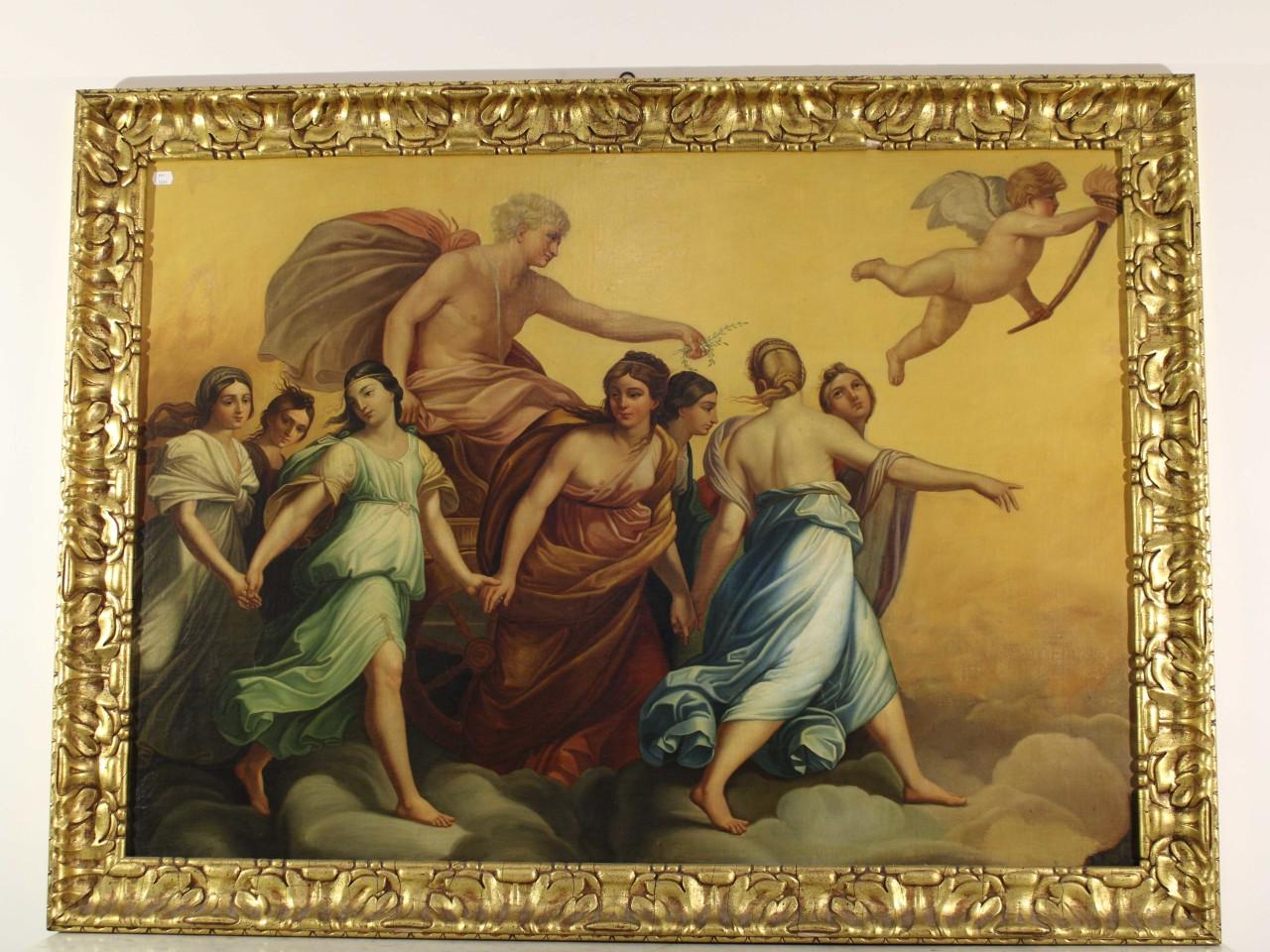 Culto di Aurora. Eos e Titone -Antichità Ioviero