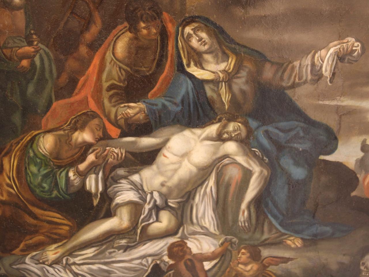 La deposizione di Cristo -Antichità Ioviero