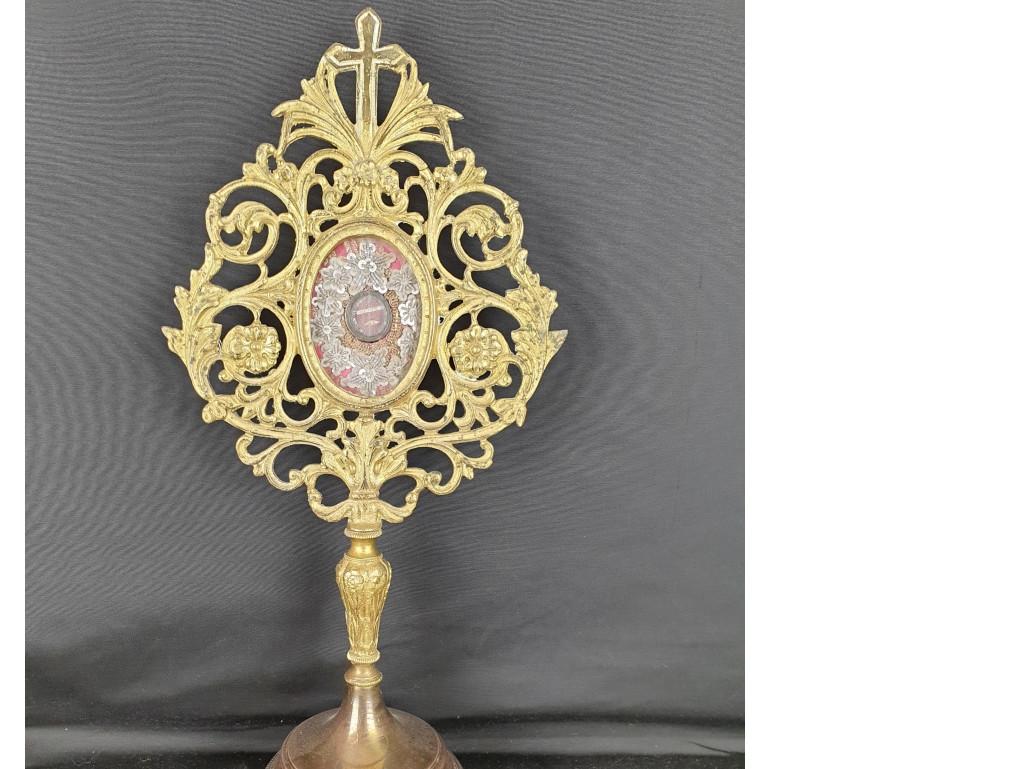 reliquiario con reliquia di S. Antonio - Antichità Ioviero