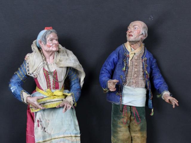 Pastori antichi e arte presepiale '700 e '800  napoletano- Antichità Ioviero