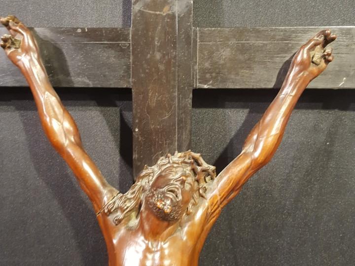 Crocefisso in legno di bosso del 700 - Antichità Ioviero