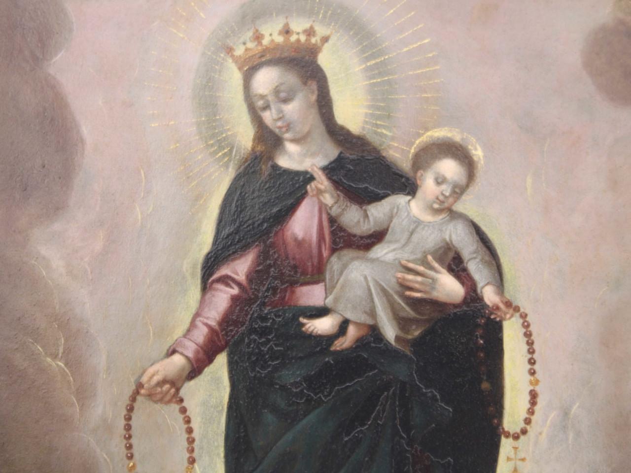 Madonna del Rosario - Antichità Ioviero