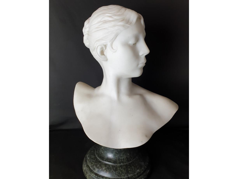 Busto di Diana cacciatrice di J. Falguière - Antichità Ioviero
