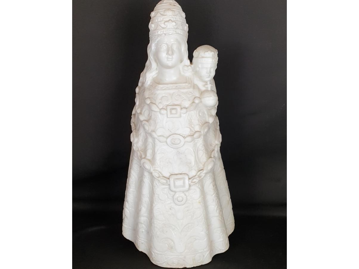 Madonna del Loreto in marmo del 600 - Antichità Ioviero