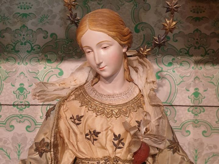 la Madonna della Medaglia Miracolosa del 1840 -Antichità Ioviero