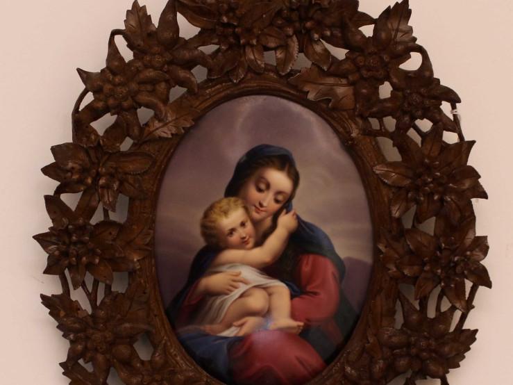 Madonna con Bambino -Antichità Ioviero
