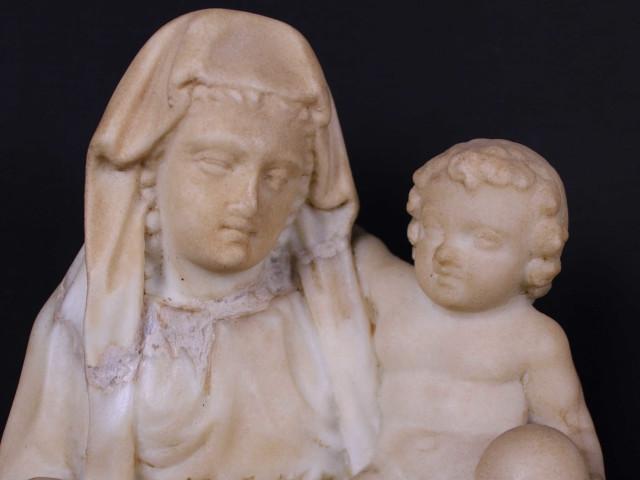 Madonna con Bambino - Antichità Ioviero