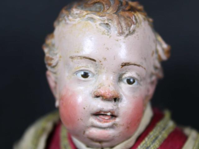 Giovane-nobile-da-presepe napoletano del 700 - Antichità Ioviero