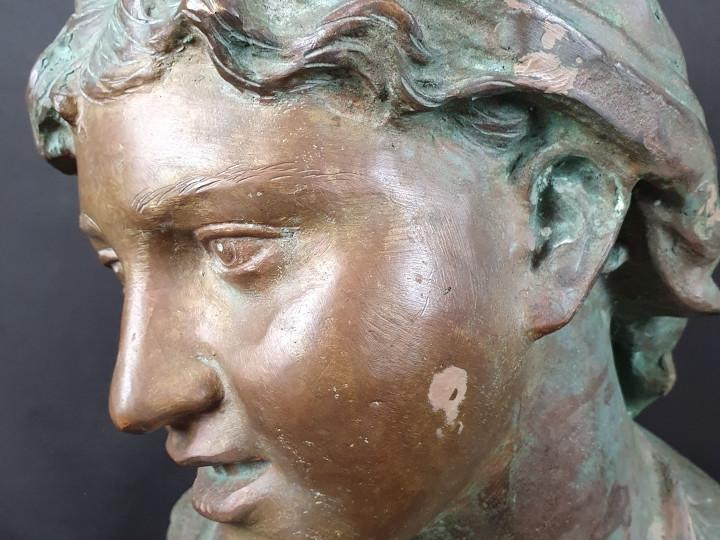 Carmela firmato Gemito -Antichità Ioviero