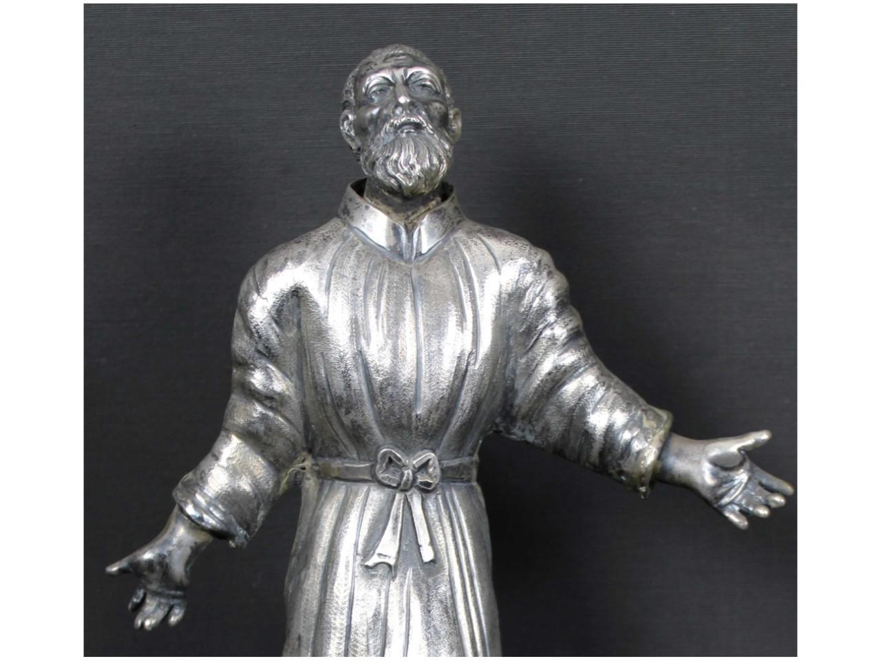 San Gaetano in argento -Antichità Ioviero