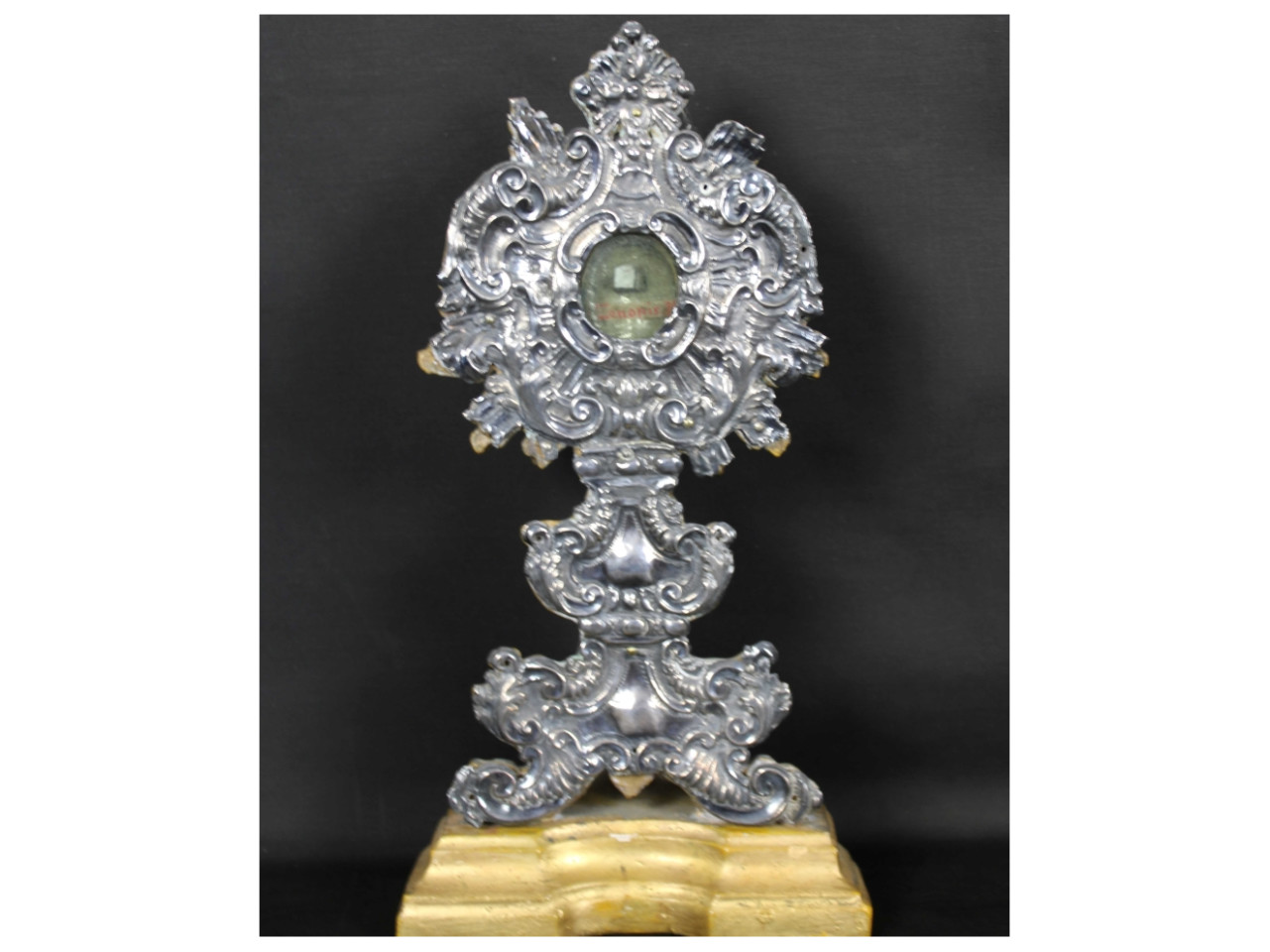 Reliquiario in argento -Antichità Ioviero