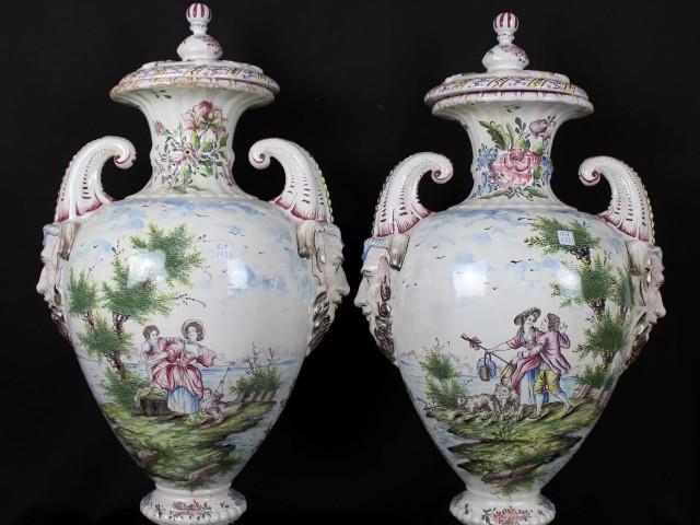 Coppia di vasi -Antichità Ioviero