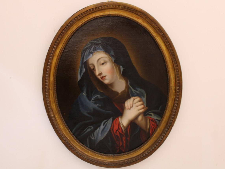 Dipinto di Madonna -Antichità Ioviero